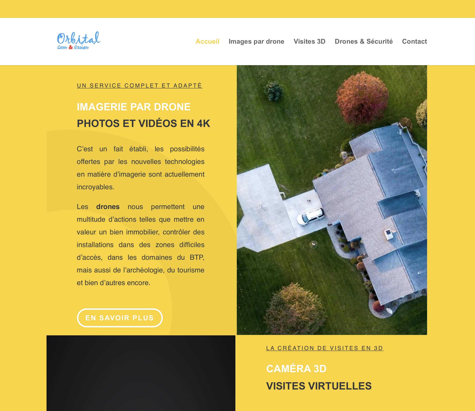 Photo accueil Orbital com & design